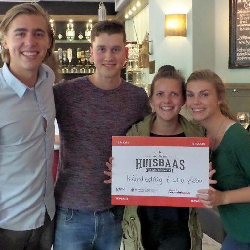 Student door VIDIUS verkozen als beste huisbaas van Utrecht